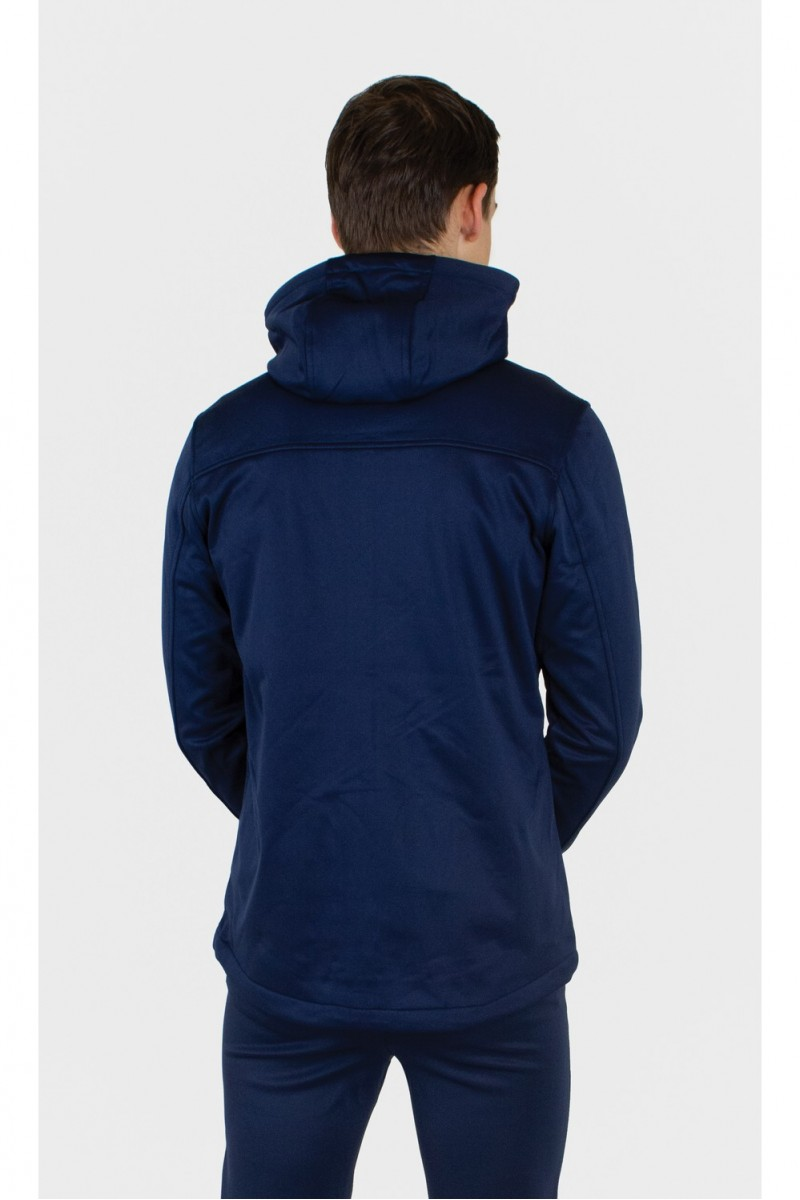 Quick Softshell Jack Navy Wit XL